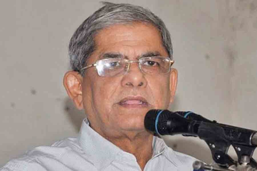 BNP Secretary General Mirza Fakhrul Islam Alamgir. File photo