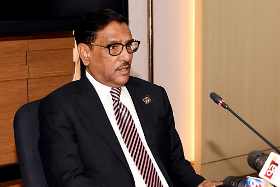 Miscreants attack at AL office: Obaidul Quader