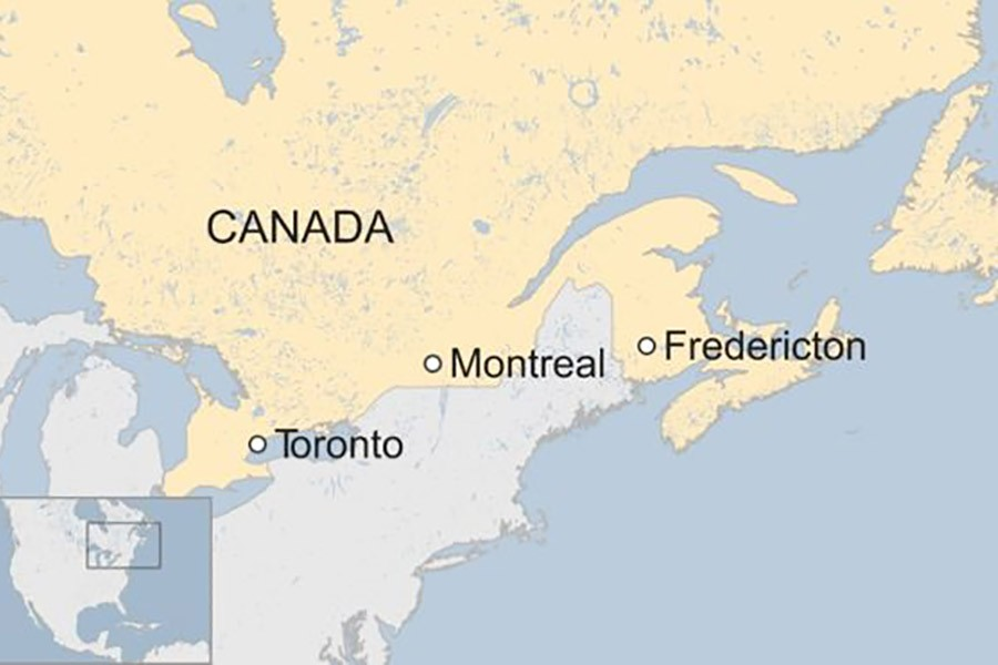 At least four dead in shooting in Canada