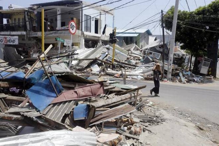 Indonesian island lifted 10 inches by deadly earthquake