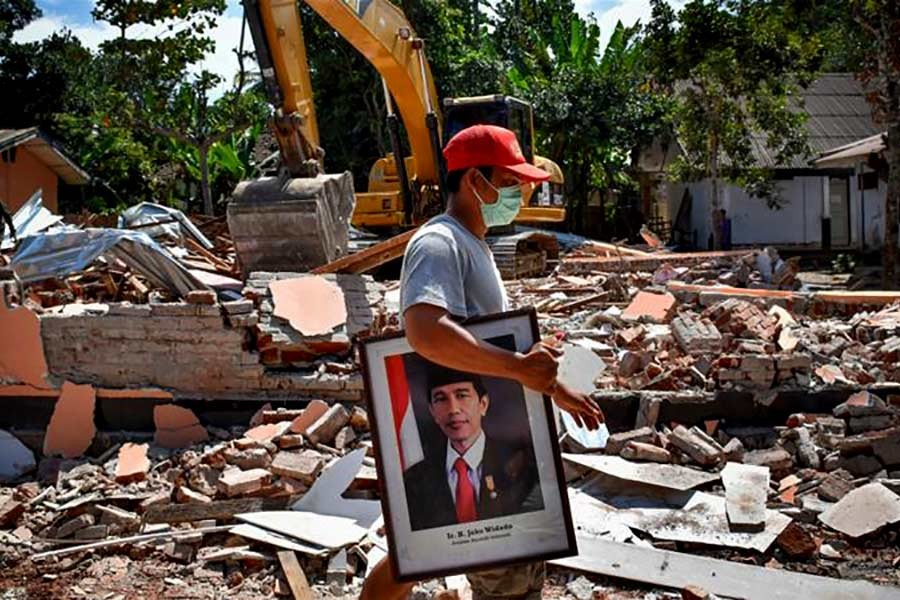 In the last several weeks, Lombok has been hit by several earthquakes and powerful aftershocks. -Reuters Photo