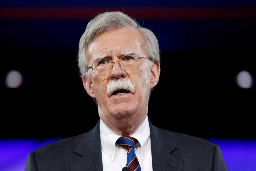 Former US Ambassador to the United Nations John Bolton speaks at the Conservative Political Action Conference (CPAC) in Oxon Hill, Maryland, US February 24, 2017. Reuters/File Photo