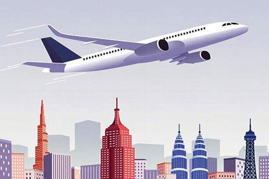 China's civil aviation sector grows steadily in Jan-July