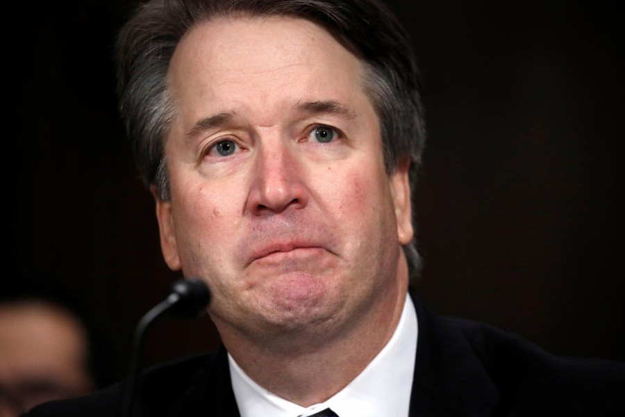US Supreme Court nominee Brett Kavanaugh testifies before a Senate Judiciary Committee confirmation hearing for Kavanaugh on Capitol Hill in Washington, US, September 27, 2018. Reuters