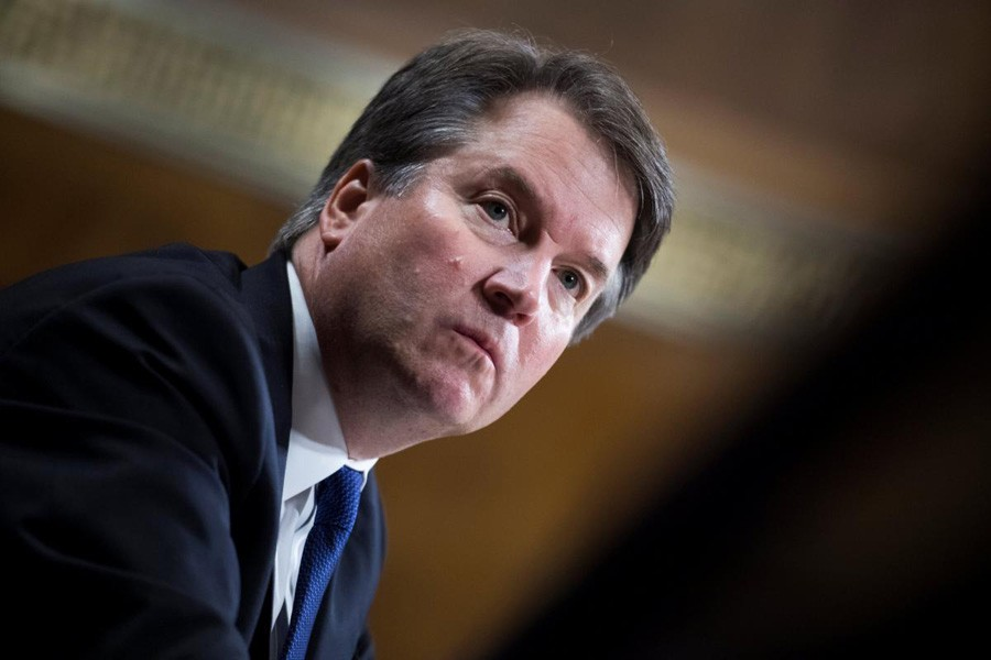 Judge Brett Kavanaugh testifies during the Senate Judiciary Committee hearing on his nomination to be an associate justice of the Supreme Court of the United States, on Capitol Hill in Washington, DC, US, September 27, 2018. Reuters/File Photo