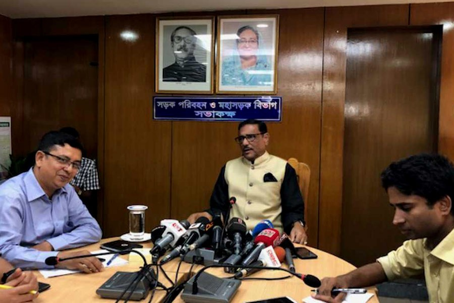 Quader sees no necessity of neutral govt during polls