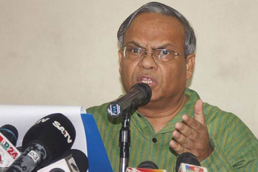 'State-sponsored verdicts' in Aug-21 cases to ruin BNP: Rizvi