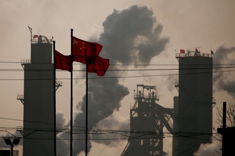 China's industrial profits up 14.7pc in first nine months