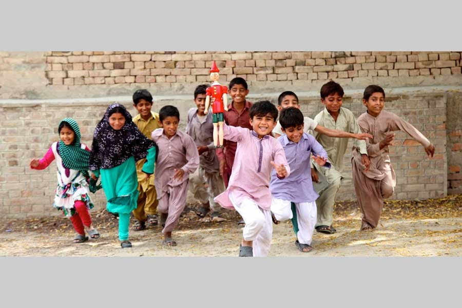 Interface between childhood and youth