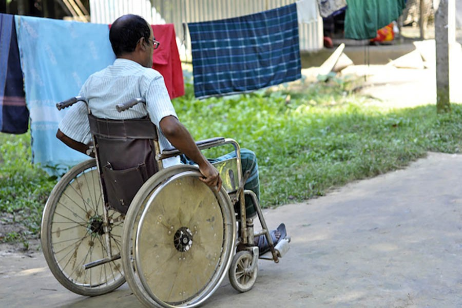 Disabled people in Bangladesh suffer from negligence and discrimination, activists say. Photo: Collected