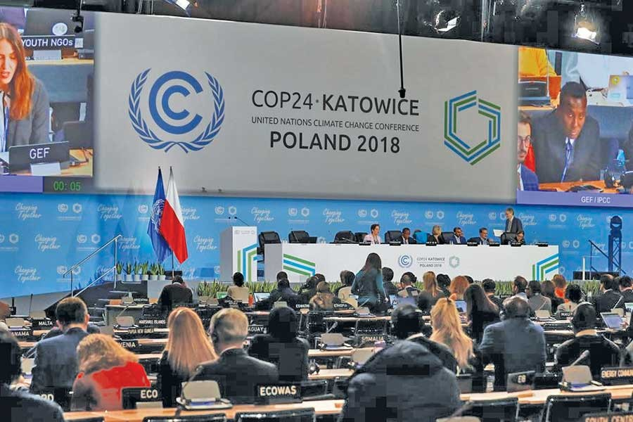 A view of the  COP24 UN Climate Change Conference 2018 in Katowice, Poland.        —Photo: Reuters