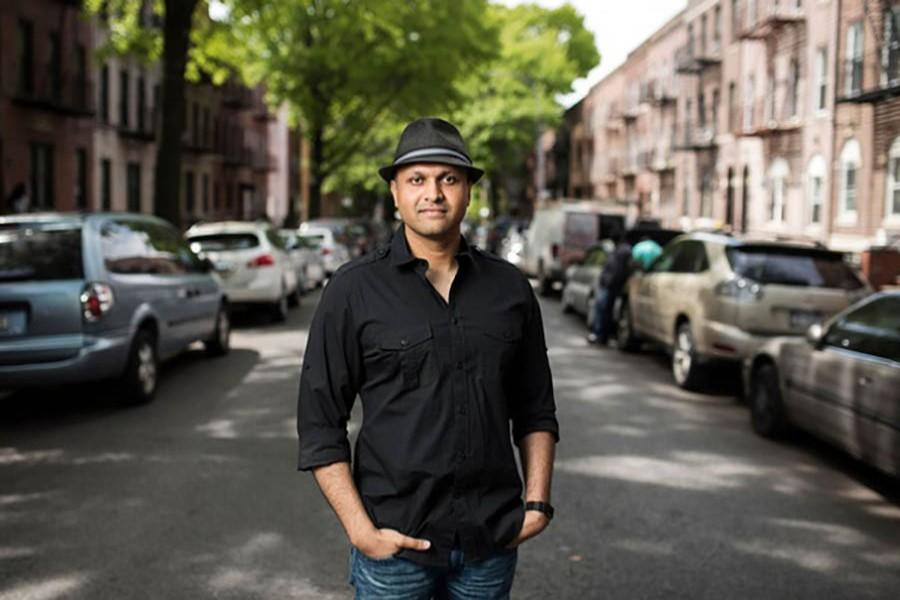 Syed Ali near his apartment building in Brooklyn, May 12, 2017. File photo