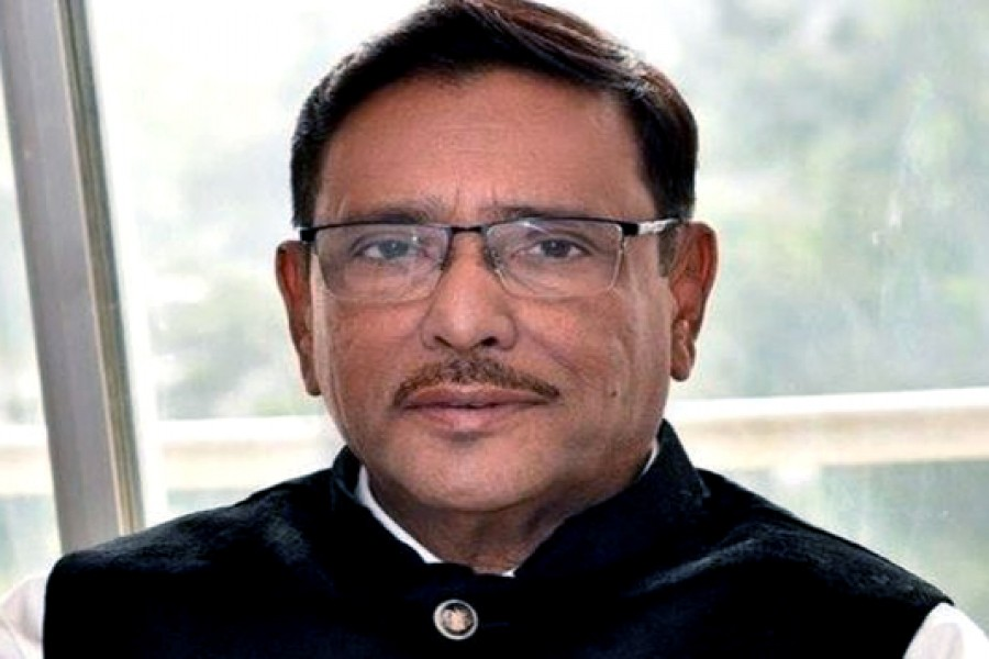 Quader says BNP frustrated sensing defeat