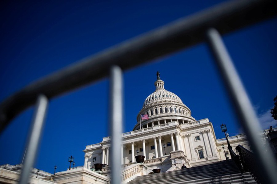 The US Capitol is pictured on day 30 of a partial government shutdown, in Washington, US, January 20, 2019. Reuters