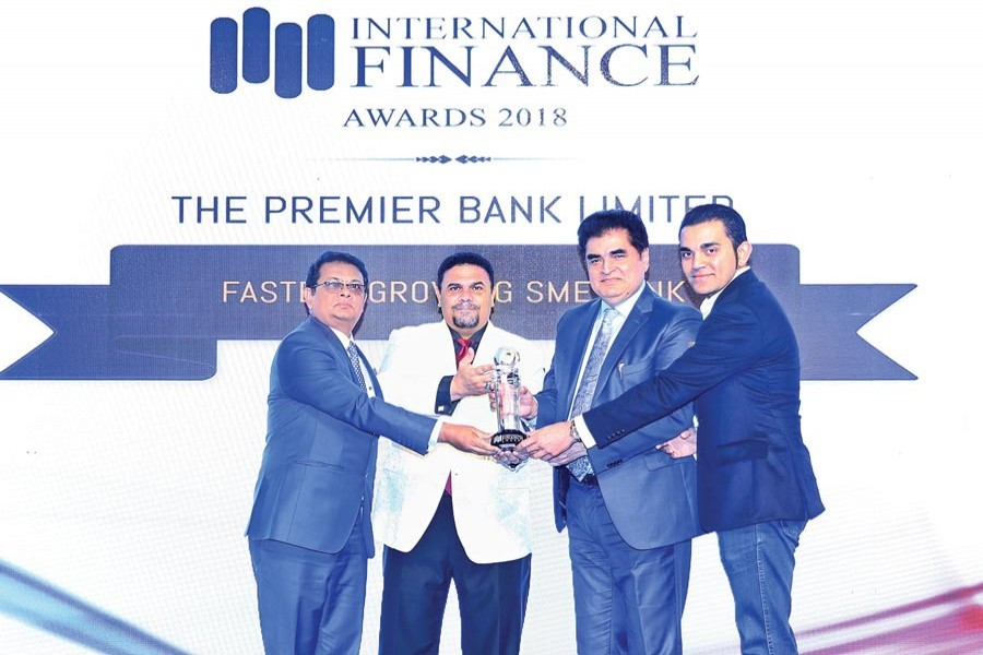 Premier Bank wins International Finance Awards-2018
