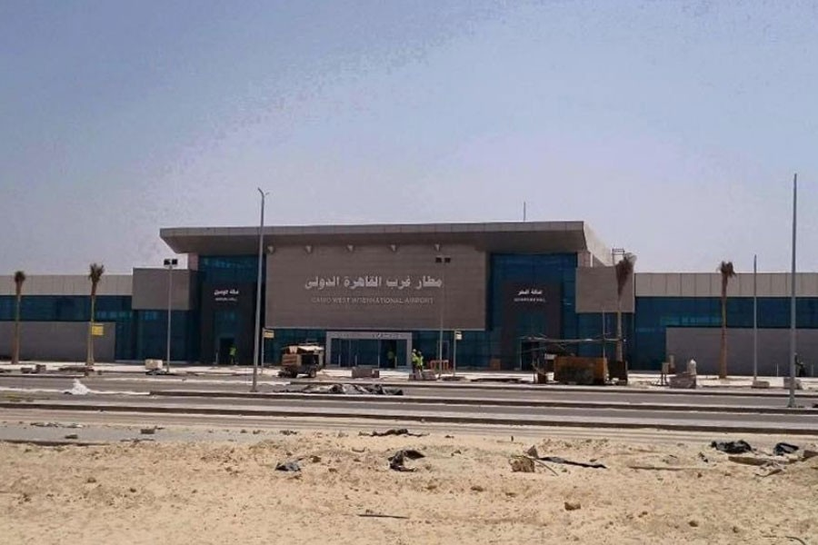 The Sphinx International Airport, located near the Giza Pyramids and the new Grand Egyptian Museum, is expected to operate 30 flights by early February during its trial run - Internet Photo