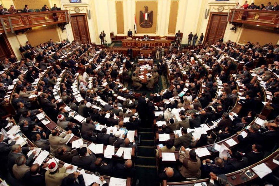 Members of the Egyptian parliament attend a session at Egypt's parliament in Cairo February 26, 2012 - Reuters File Photo used for representation