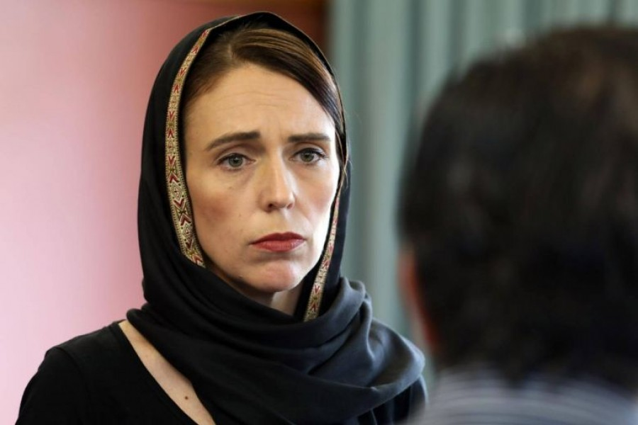 New Zealand PM vows not to say gunman's name
