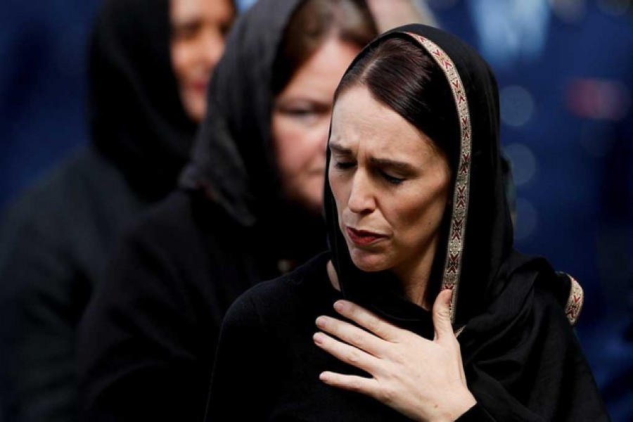 """We are one"" says PM Ardern as NZ mourns with prayers, silence"