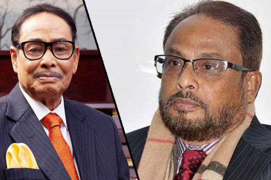Ershad sacks 'failing' brother GM Quader as party co-chairman