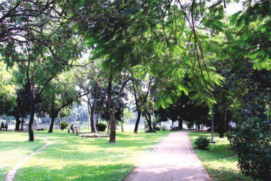 Saving Ramna Park from alien aggression
