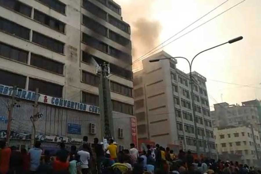 Mirpur garment fire under control, no casualties reported