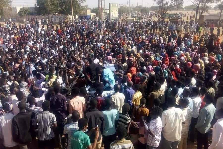 Sudan protesters demand trial of past leaders