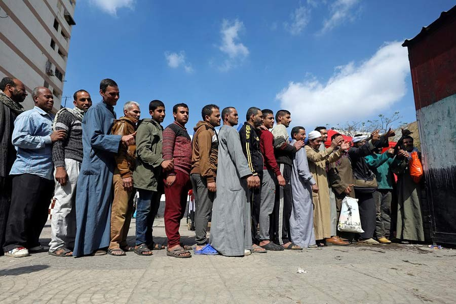 Voting begins in Egypt's constitutional referendum