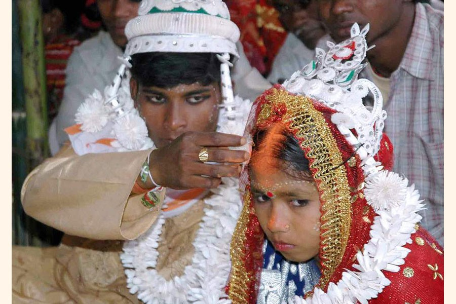 Bride not before 18