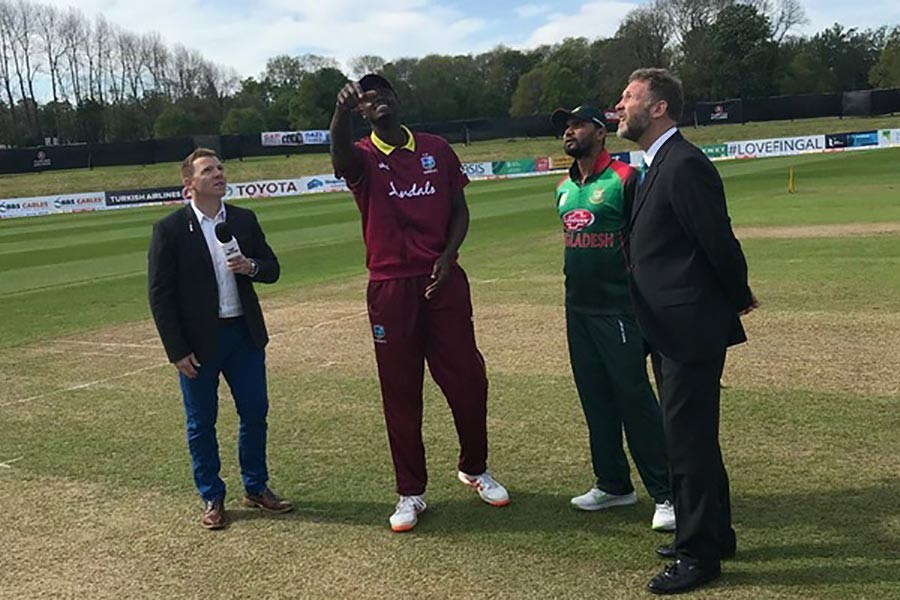 Bangladesh lose toss, field first against West Indies