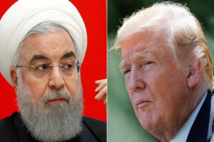 Tensions have risen between Iran under President Hassan Rouhani and the US under President Donald Trump. Reuters