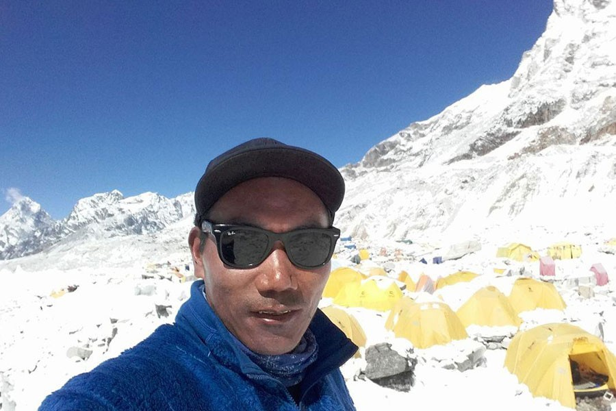 Kami Rita Sherpa first climbed Everest in 1994 and is a guide for international companies that organise climbing expeditions - Internet photo