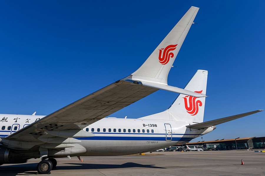 A Boeing 737 MAX 8 aircraft of Air China sits on the tarmac at an airport in Beijing, China on March 11, 2019 — Reuters/Files