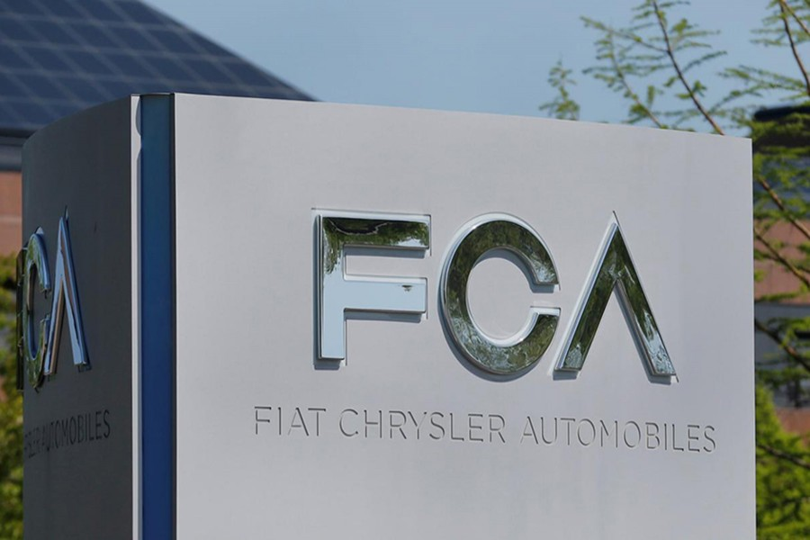 A Fiat Chrysler Automobiles (FCA) sign is seen at its US headquarters in Auburn Hills, Michigan, US on May 25, 2018 — Reuters photo