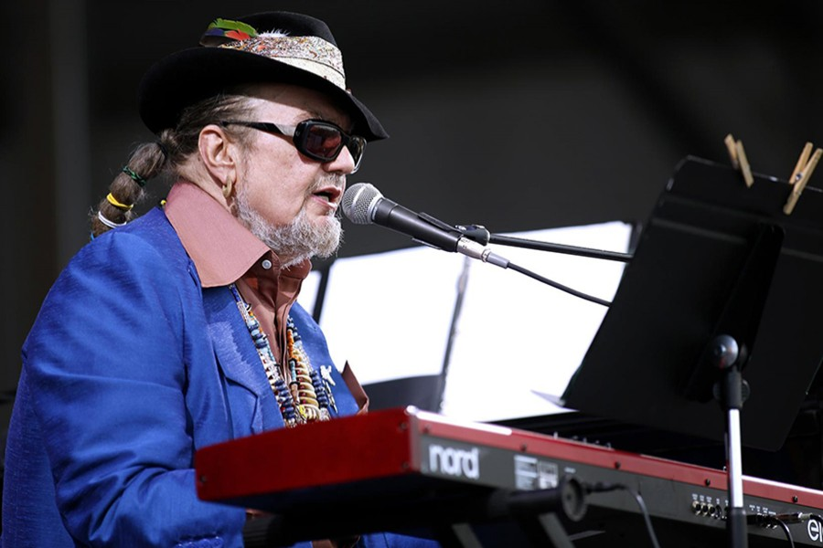 Musician Dr John performs during the New Orleans Jazz and Heritage Festival in New Orleans, Louisiana April 26, 2013 — Reuters/Files