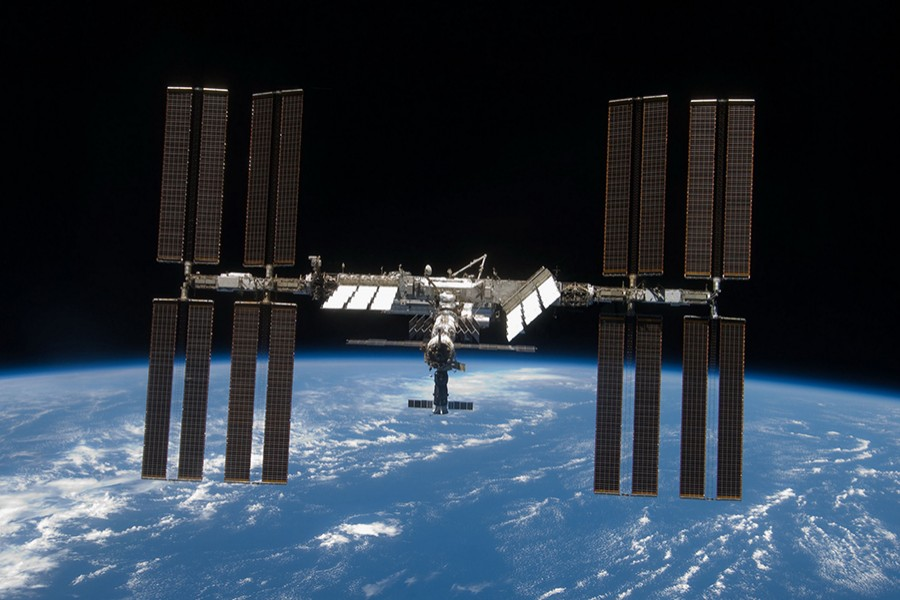 For roughly $35,000 a night, a private citizen could visit the International Space Station each year. Photo courtesy: NASA