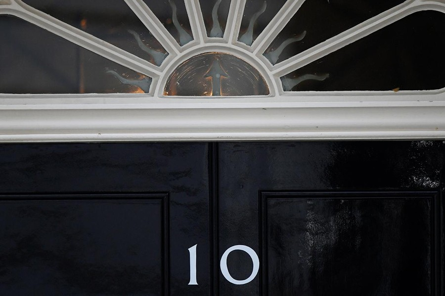 The door of 10 Downing Street is seen as uncertainty over Brexit continues, in London, Britain on May 24, 2019 — Reuters/Files