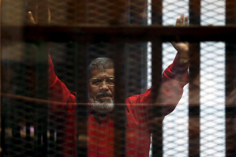 Mohamed Mursi seen in this undated Reuters photo