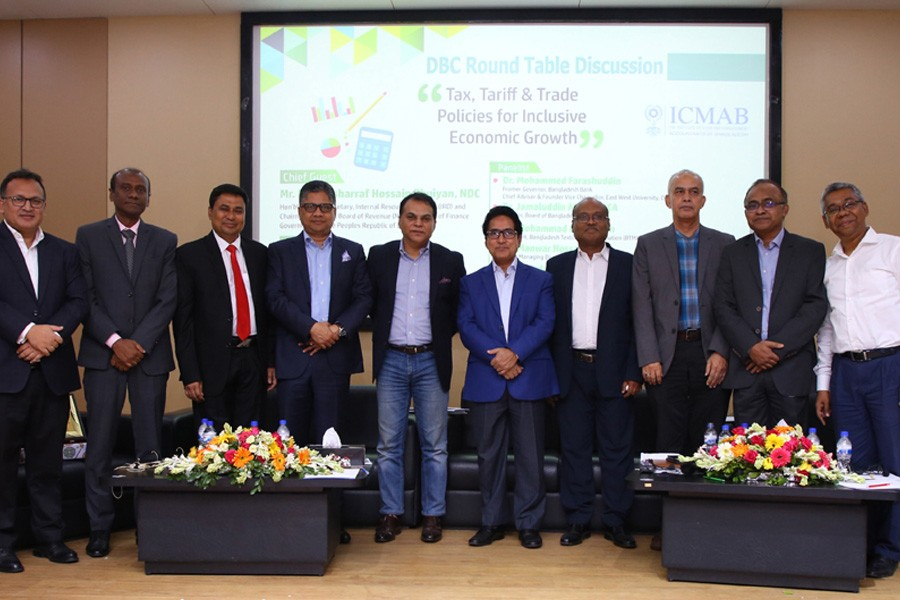 ICMAB holds discussion on 'Tax, Tariff & Trade Policies for Inclusive Economic Growth'