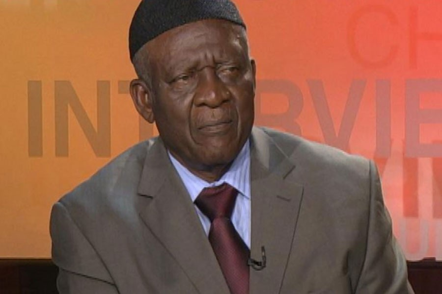 John Fru Ndi, who heads the Social Democratic Front (SDF) and finished runner-up to President Paul Biya in the 2011 election, was taken from his home in the city of Bamenda on Friday - Internet photo