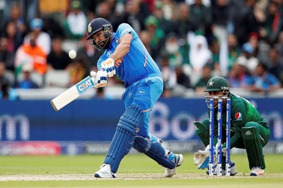 India firmly on top