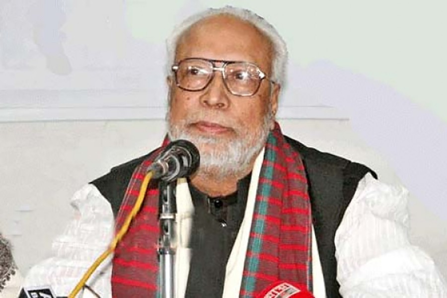Krishak Sramik Janata League President Abdul Kader Siddique seen in this file photo — Collected