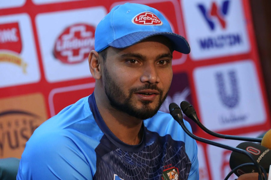 Mashrafe set to lead Tigers in Sri Lanka series