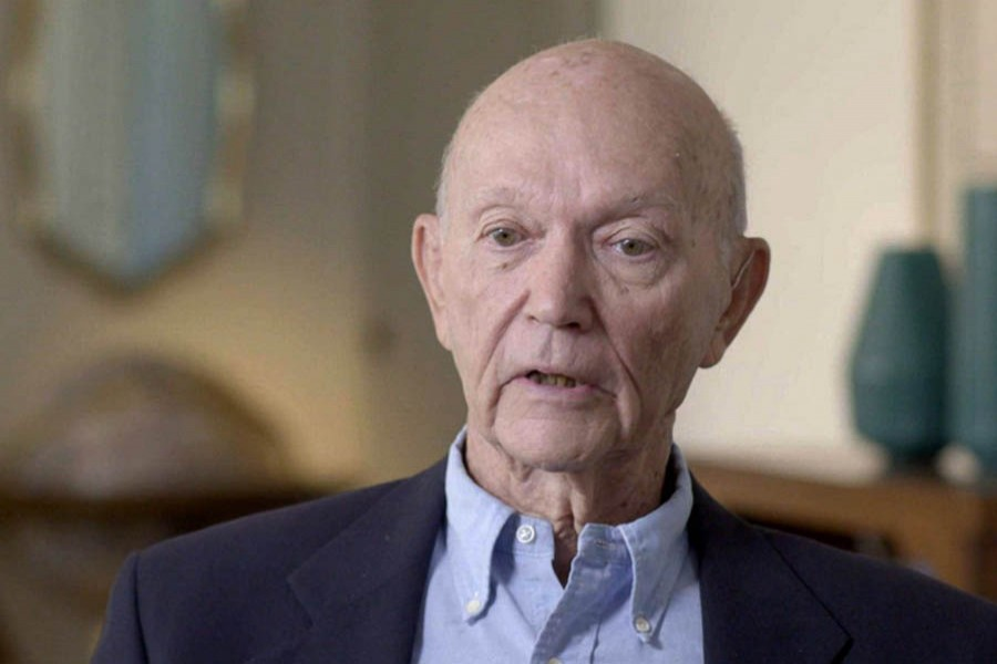 Apollo 11 Astronaut Michael Collins returns to launch site on 50th anniversary