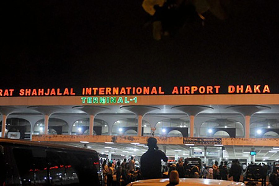 Power supply at Shahjalal Airport restored after 7 hours