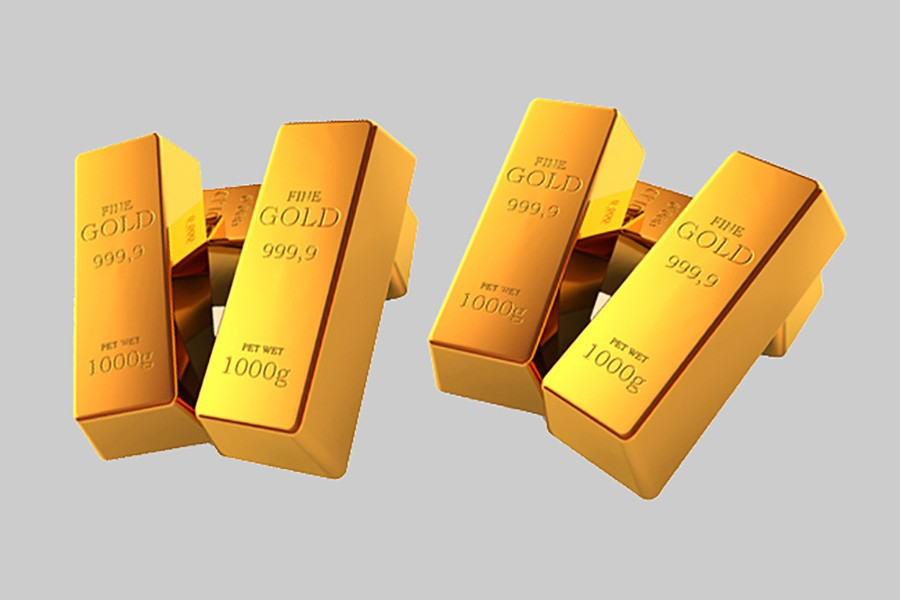 Gold, platinum prices up by Tk 100 per gram