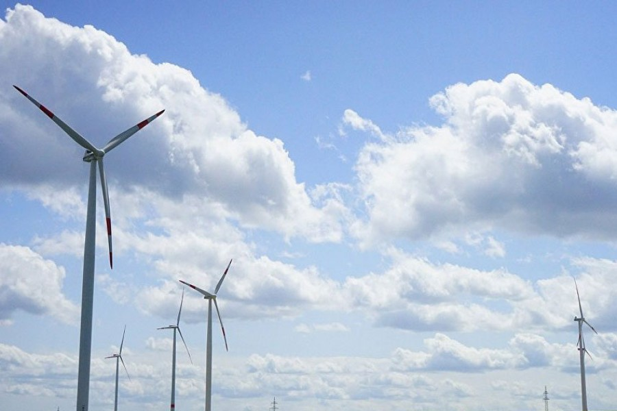 Harnessing wind potential for power generation