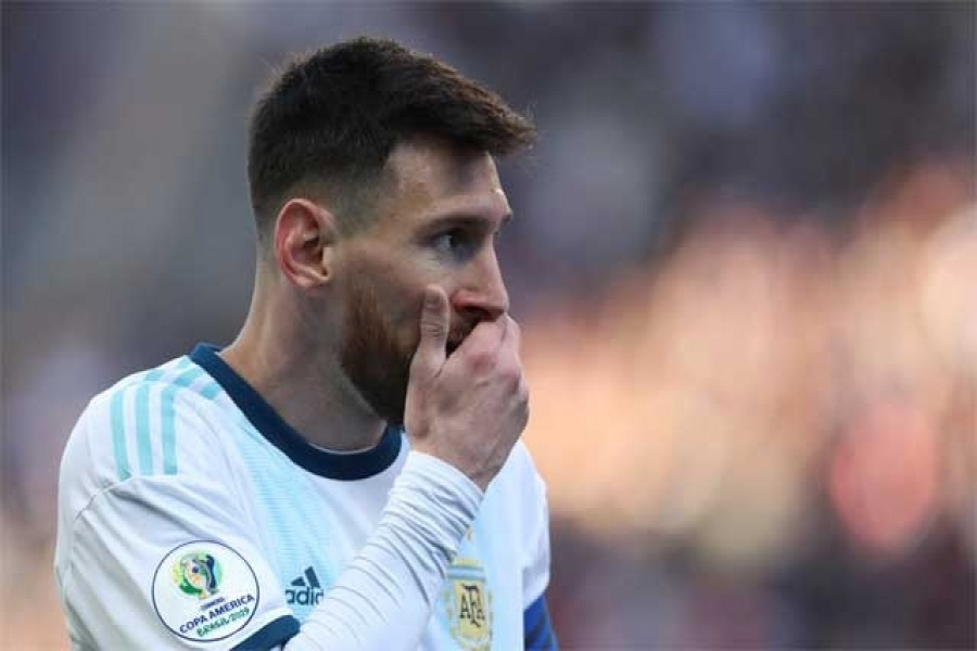 Messi suspended for three months by CONMEBOL