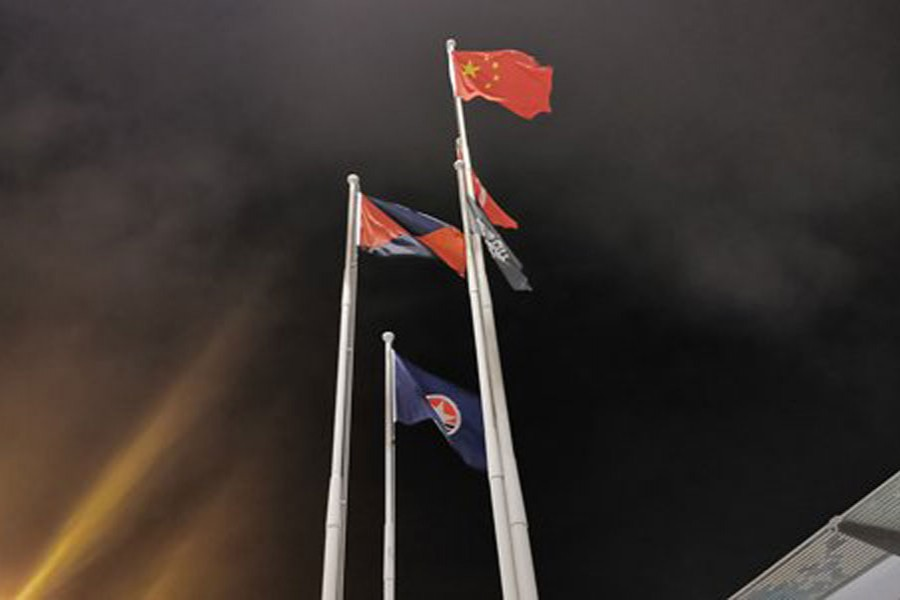 Harbour City fails to protect national flag after being desecrated twice