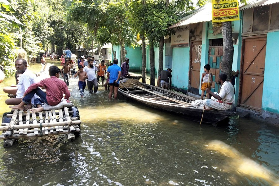 The voiceless flood-hit people